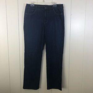 Bandolino Caroline Jeans 14 High Rise Denim